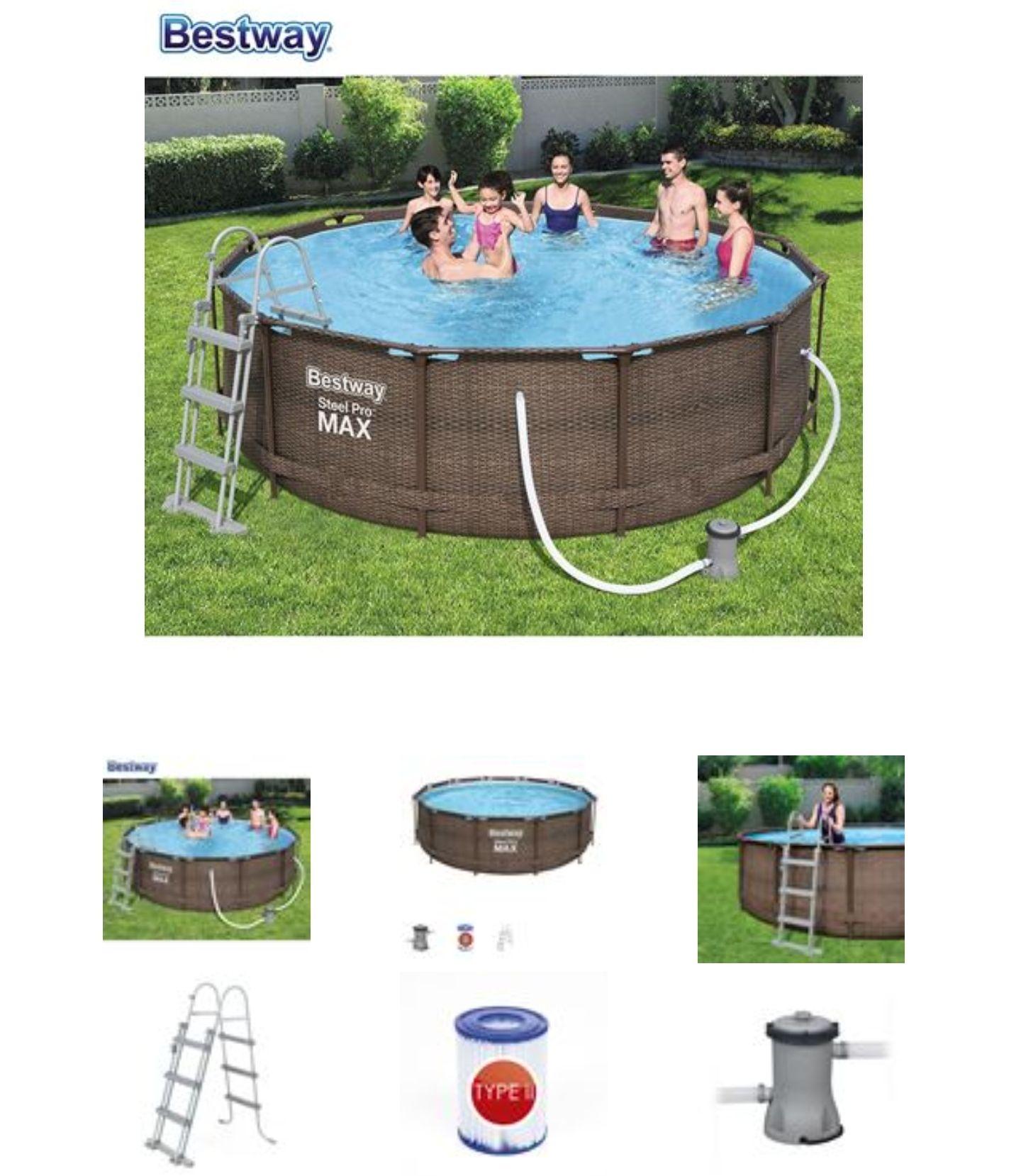 Bestway #56709 Steel Pro MAX Pool 366x100cm