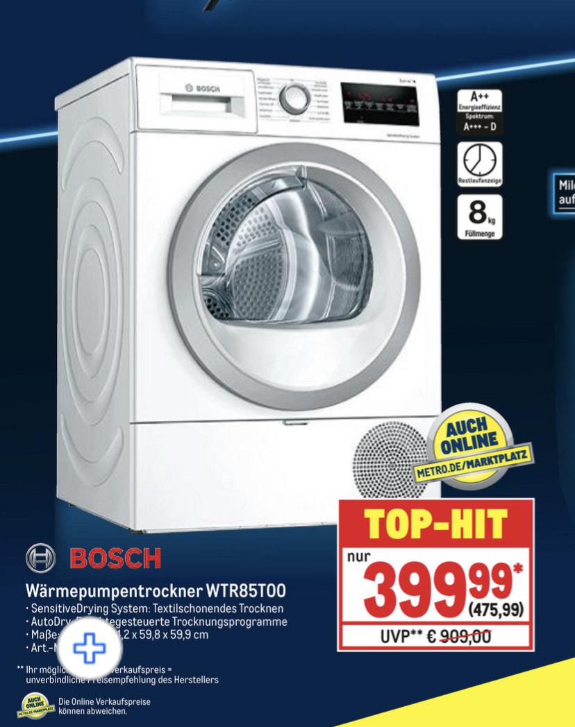 Bosch Wärmepumpentrockner WTR85T00