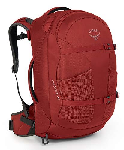 Osprey Farpoint 40 S/M Travel Pack Reiserucksack für Herren in rot