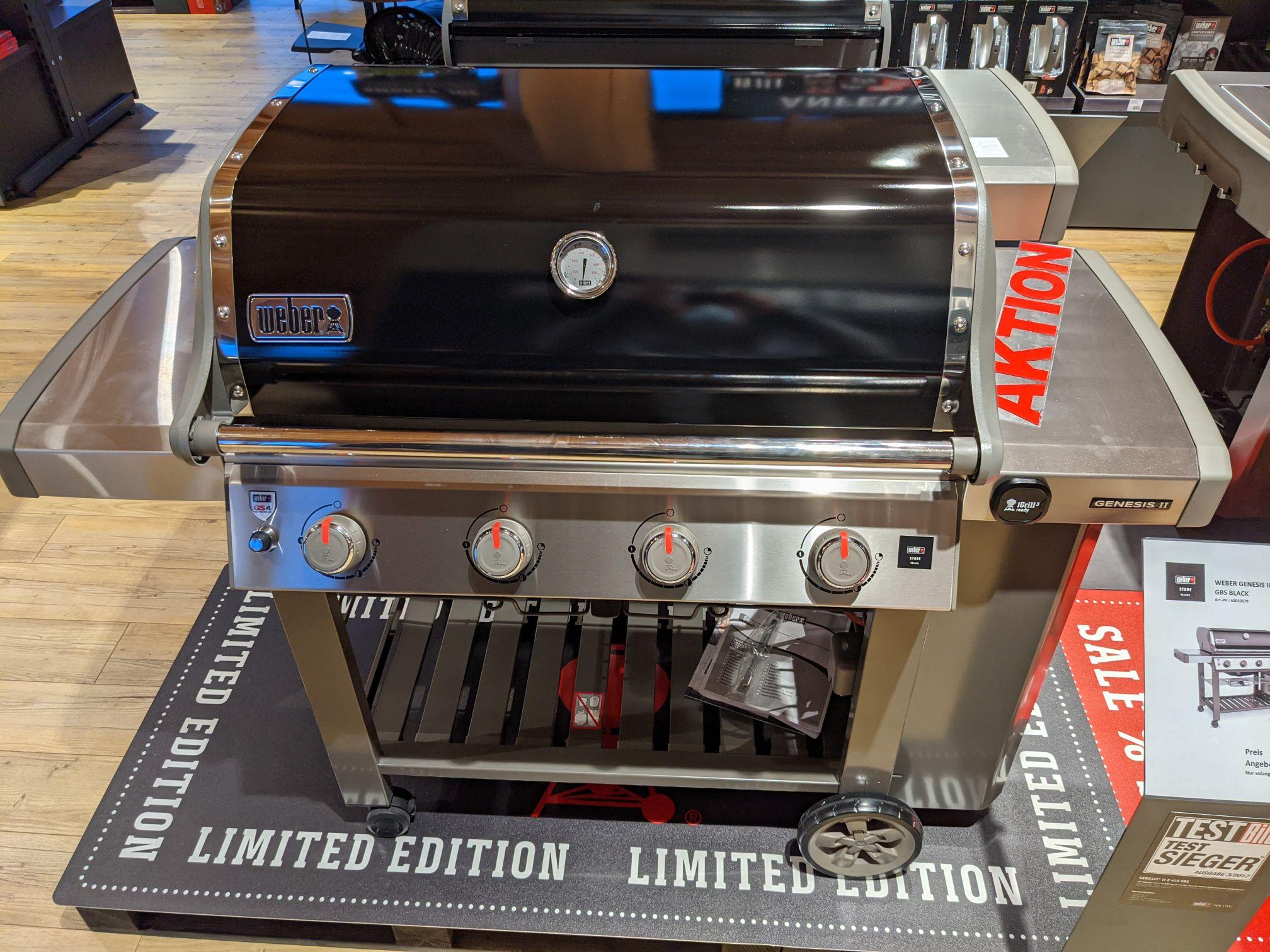 - Lokal - Weber Genesis II E-410 GBS - Weber Store Telgte