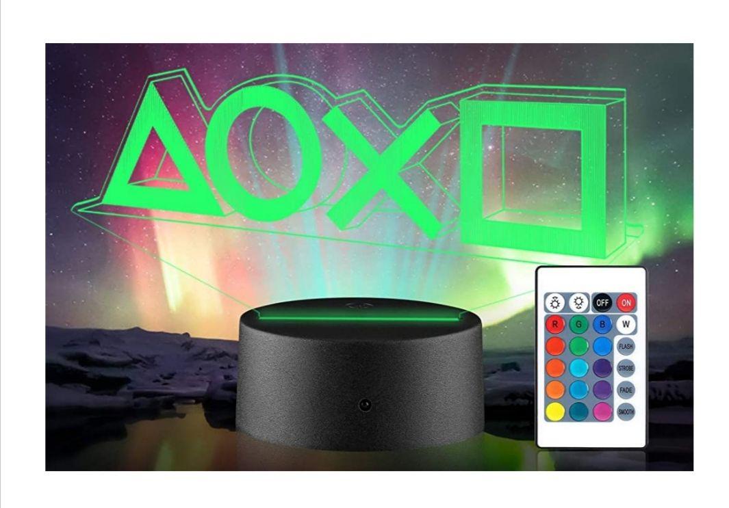 """""""Prime"""" Xpassion Playstation Lampe mit Farbwechsel Funktion 16 Farben LED-Tisch-Schreibtisch-Lampen"""