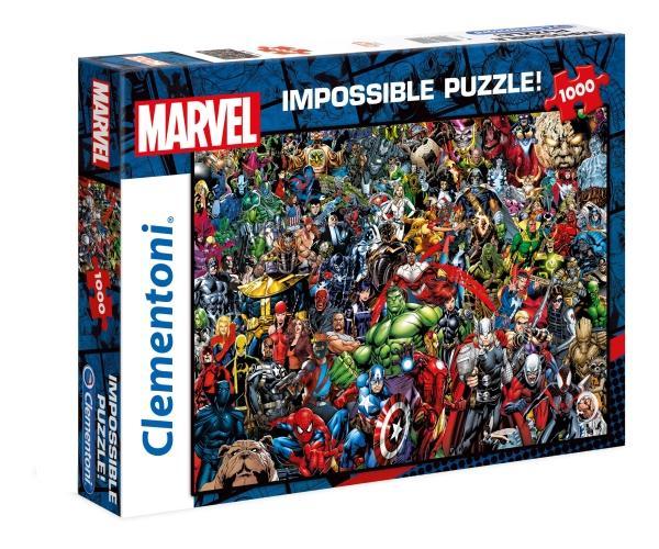 Clementoni 39411 Marvel Universe - Impossible Puzzle mit 1000 Teilen für 7,55€ inkl. Versand (Thalia Kultklub)