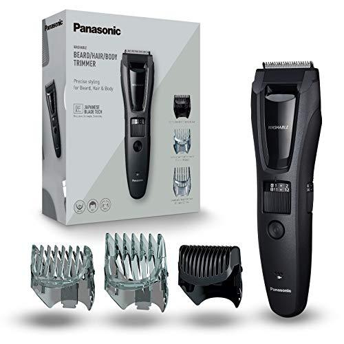 Panasonic 3-in-1 Bart-/ Haarschneider ER-GB62 (39 Schnittstufen, Inkl. Body-Trimmer, Abwaschbar) [Amazon]