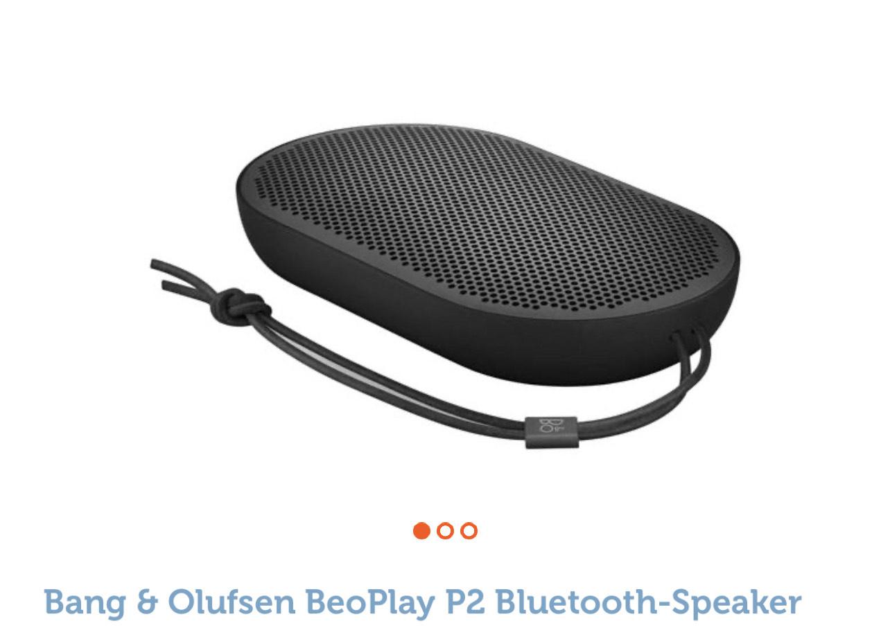 Bang & Olufsen Beoplay P2 Bluetooth Lautsprecher
