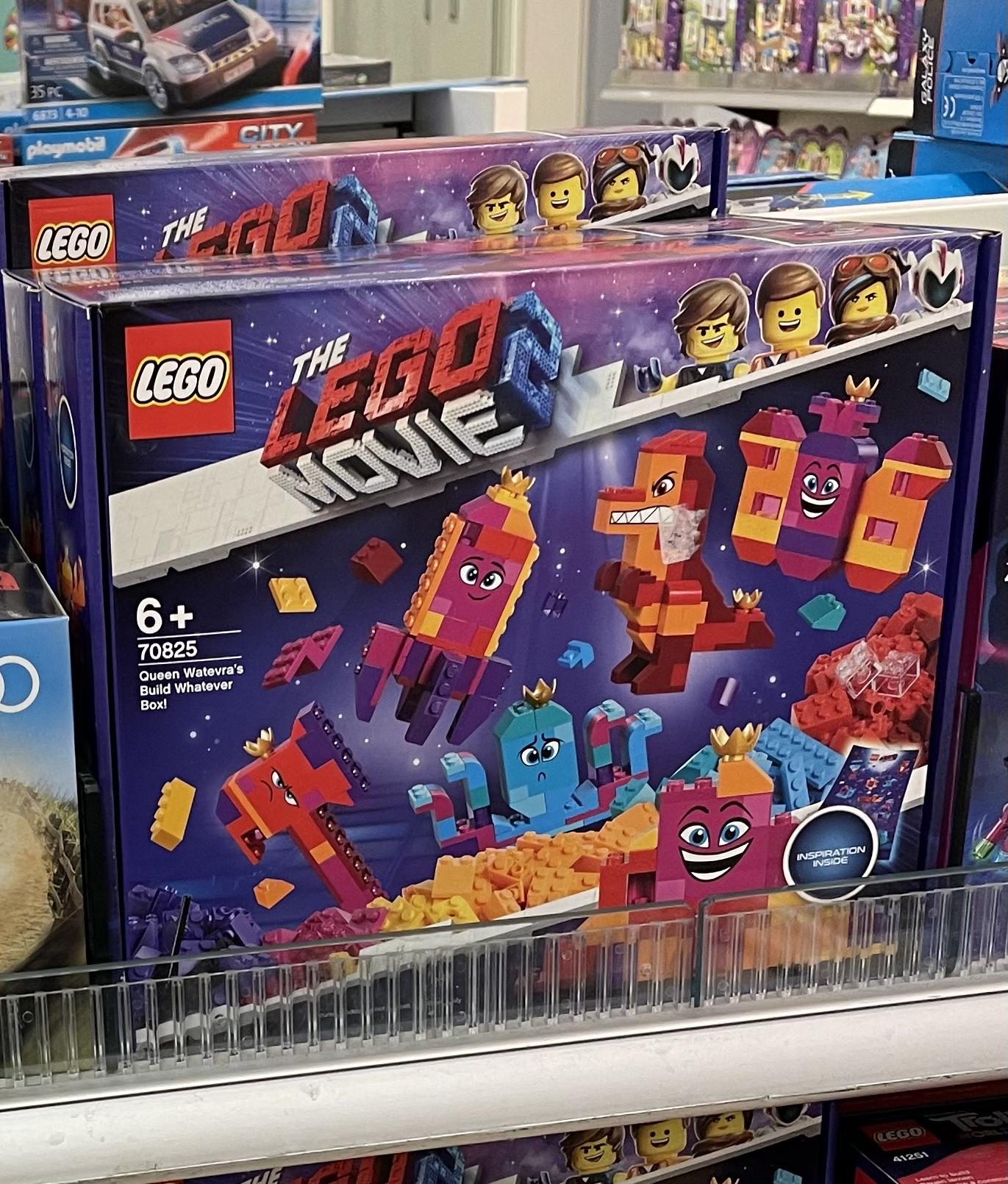 GALERIA Filialen: LEGO Königin Wasimma Si-Willis Bau-was-du-willst-Box! (70825)
