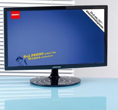 [LOKAL?] - 21,5 Zoll - Samsung Syncmaster S22B300B LED-Backlight Monitor bei Penny