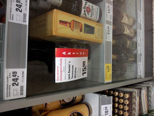 [offline] Jack Daniels Whiskey im Angebot bis 2. März @rewe