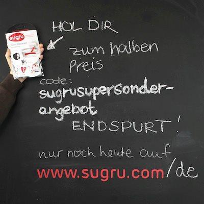 sugru - neuartiges selbsthärtendes Silikongummi zum halben Preis