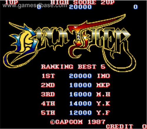 Black Tiger old-school Arcade Game gratis für PS3 und XBOX-360