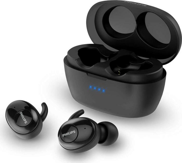 Ohrhörer & Kopfhörer von Philips: z.B. Philips TAT3215 True Wireless In-Ears (BT 5.1, 6/24h Akku, USB-C, Sprachassistent, IPX4)