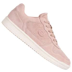 Champion 'Chicago' Suede Low Top Rosa Damensneakers aus Nubukleder (Gr. 36-42)