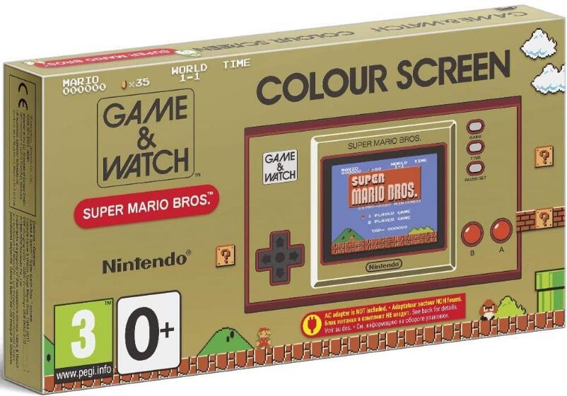 Game & Watch: Super Mario Bros - Handheld Konsole für 39,78€ inkl. Versand (Amazon UK)