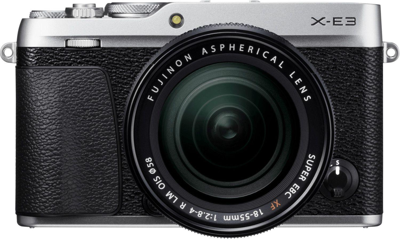 Fujifilm X-E3 Systemkamera inkl. Fujinon XF18-55F2,8-4 Objektiv - Vorbestellung