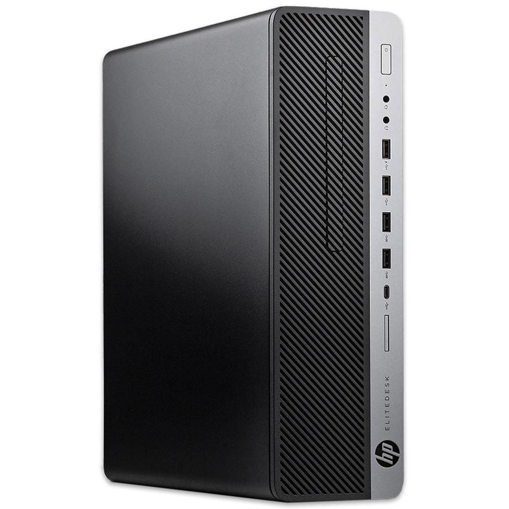[gebraucht] HP EliteDesk 800 G3 SFF PC (i5-6500, 8GB RAM, aufrüstbar, 250GB SSD, 2x DP, USB-C, 6x USB-A 3.0 & 4x 2.0, DVD, Win10)