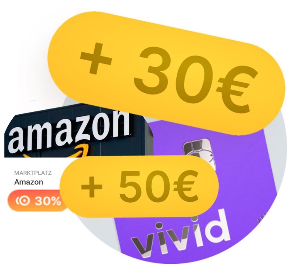 vivid Money Girokonto & VISA - 20€ KwK + 20€ für Werber - kostenlos & keine Schufa