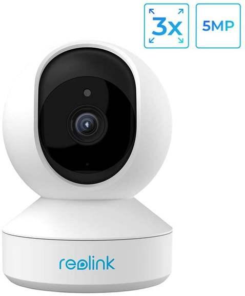 [Amazon] Reolink E1 Zoom, 5MP, 355°/50° schwenkbare WiFi IP Kamera mit 3X optischem Zoom, 2,4Ghz und 5Ghz WiFi für 63,19€