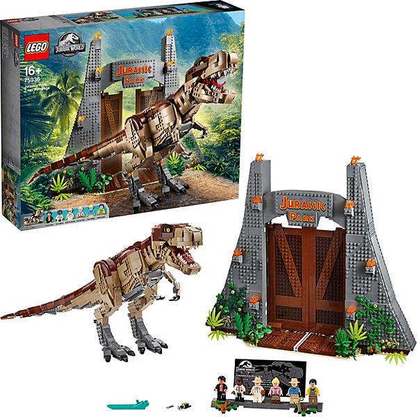 (myToys Sammeldeal #2) Weitere günstige LEGO-Sets, z. B. 75936 (T-Rex), 51515 (Roboter), 60198 (Güterzug), 75288 (AT-AT), 31109 (Piraten)