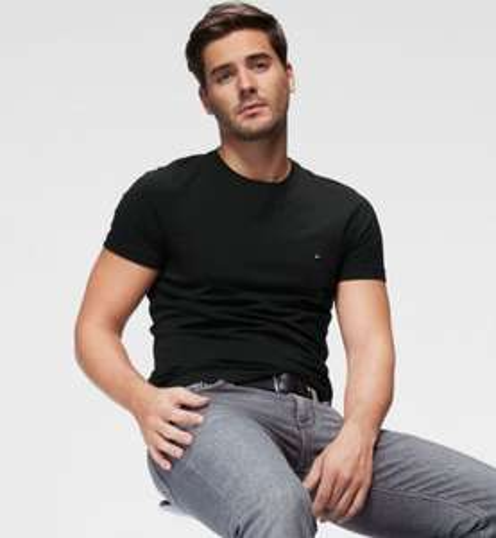 Tommy Hilfiger Core Stretch Slim Cneck T-Shirt ab 19,90€ (statt 29€)