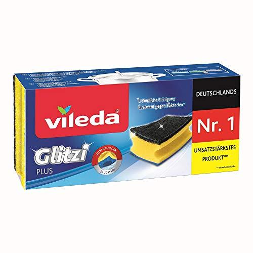 3er Pack Vileda Glitzi Plus Topfreiniger ab 0,85€ – Prime Sparabo
