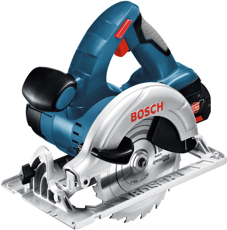Bosch Akku-Kreissäge GKS 18V-LI Solo inkl. Zubehör-Set - 060166H000 (ohne Akku, ohne L-Boxx)