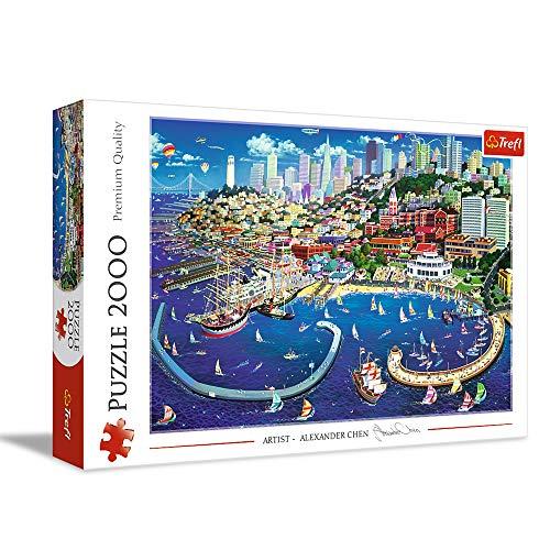 Trefl Puzzle Francisco Bay, 2000 Teile [Amazon Prime]