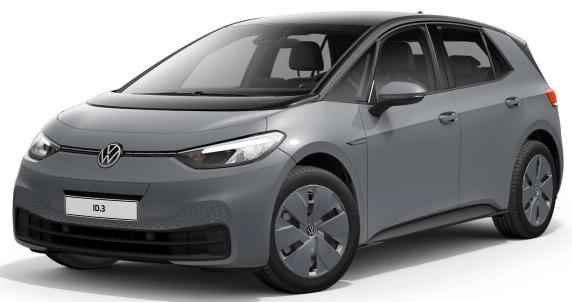 [Gewerbeleasing] VW ID.3 Pure Performance (150 PS, 45 kWh) mtl. 94€ + 496€ ÜF (eff. mtl. 114,66€), LF 0,36, GF 0,43, 24 Monate, BAFA