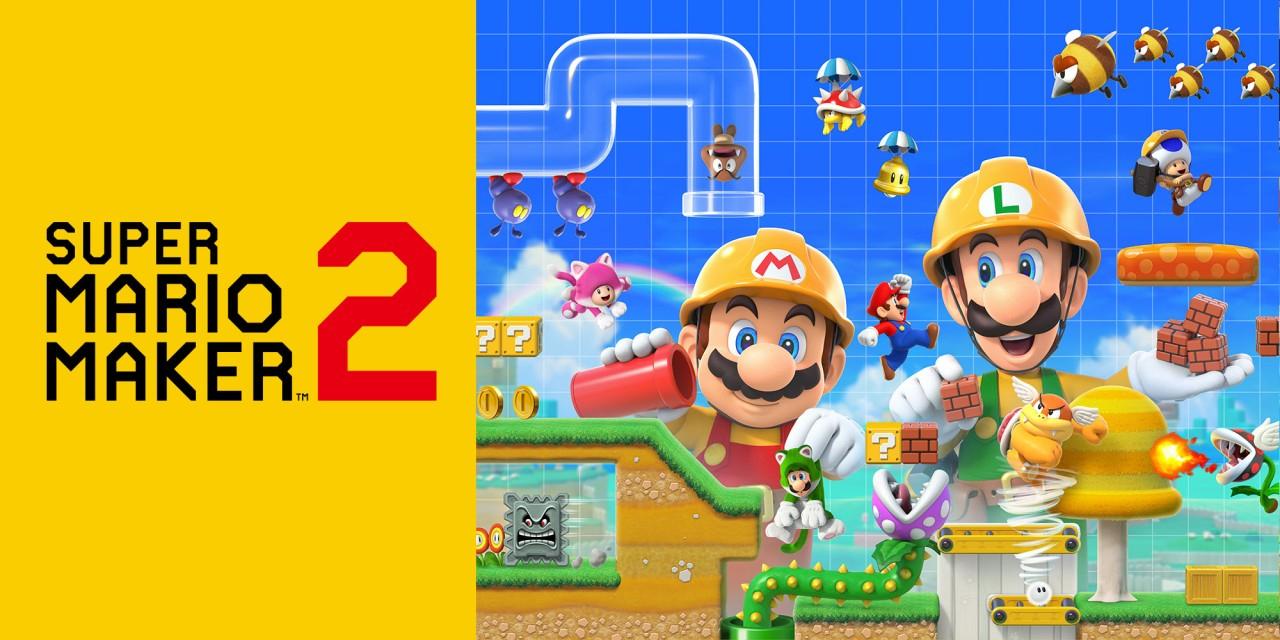 Super Mario Maker 2 und Paper Mario: The Origami King (Switch) für je 38,99€ (eShop)