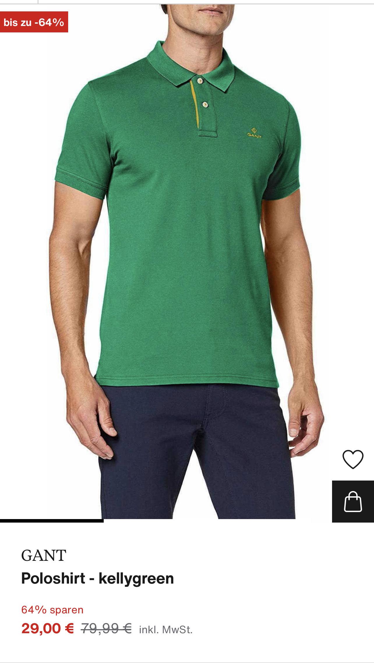 Gant Poloshirt - Polohemd - verschiedene Größen und auch Farben