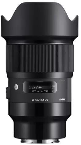 Sigma 20mm F1.4 DG HSM Art Objektiv für Sony E-Mount