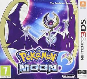 [AMAZON UK] Nintendo 3DS Pokemon Mond / Moon NEU/VERSIEGELT (PEGI)