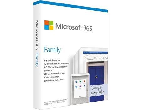Microsoft 365 Family FPP, 12 Monatsabo - Elektro Enzinger lokal abholen ohne Versandkosten
