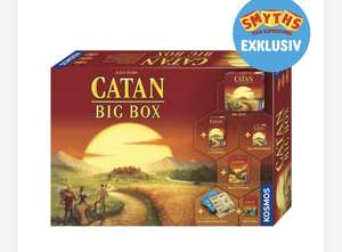 [Nur noch Lokal] Siedler von Catan BIG BOX (5+6 Spieler + Würfelspiel)