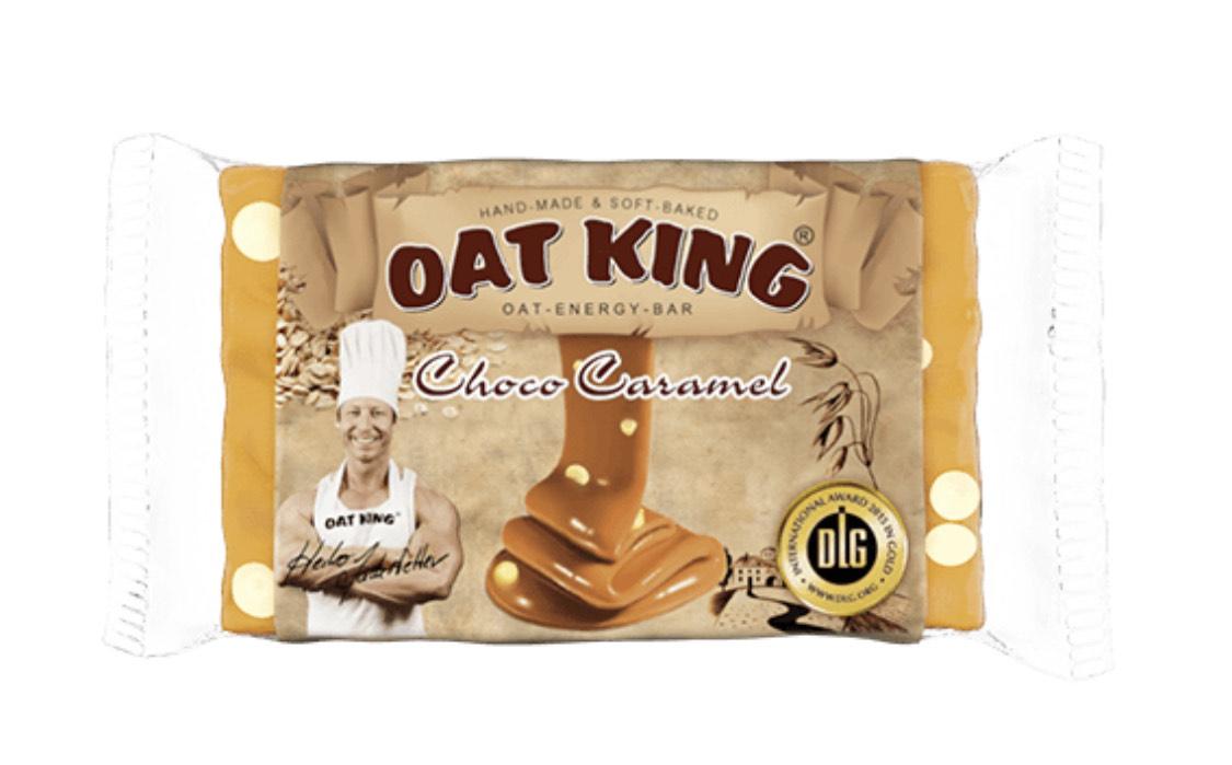Oatking Haferriegel Choco Caramel (10 Stück)