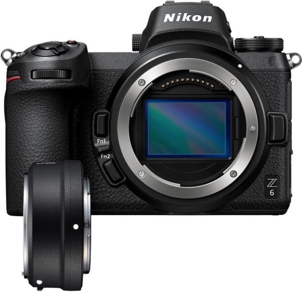 Nikon Z6 Systemkamera inkl. Adapter