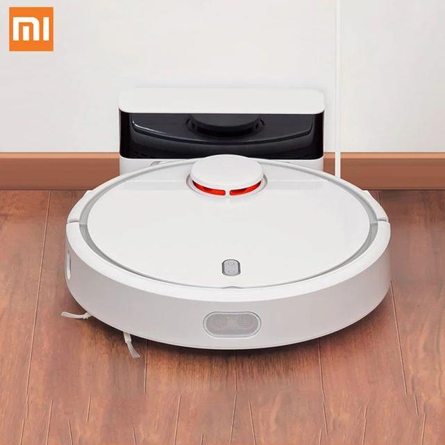 Xiaomi Mi Robot Saugroboter 1. Gen (LDS, 1800pa, 5200mAh, Mapping, Teppich-/Hinderniserkennung, Absturzsensoren, Mi Home App)