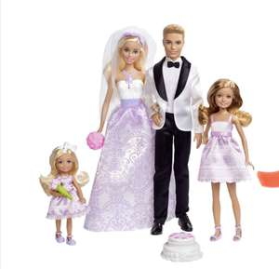 Barbie Hochzeitsset