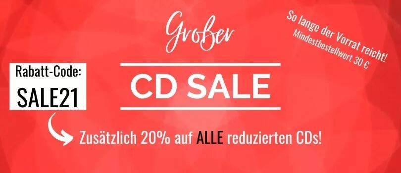 Zusätzlich 20% auf alle reduzierten CDs bei www.ongnamo-versand.de