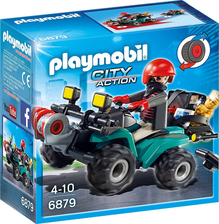 [Prime] Playmobil 6879 - Ganoven-Quad mit Seilwinde
