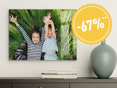 Individuelle Fotoprodukte Acrylglas 40x30 cm für 9,99€ /Leinwand 80x60 cm 14,98€ plus +4,99€ Versand