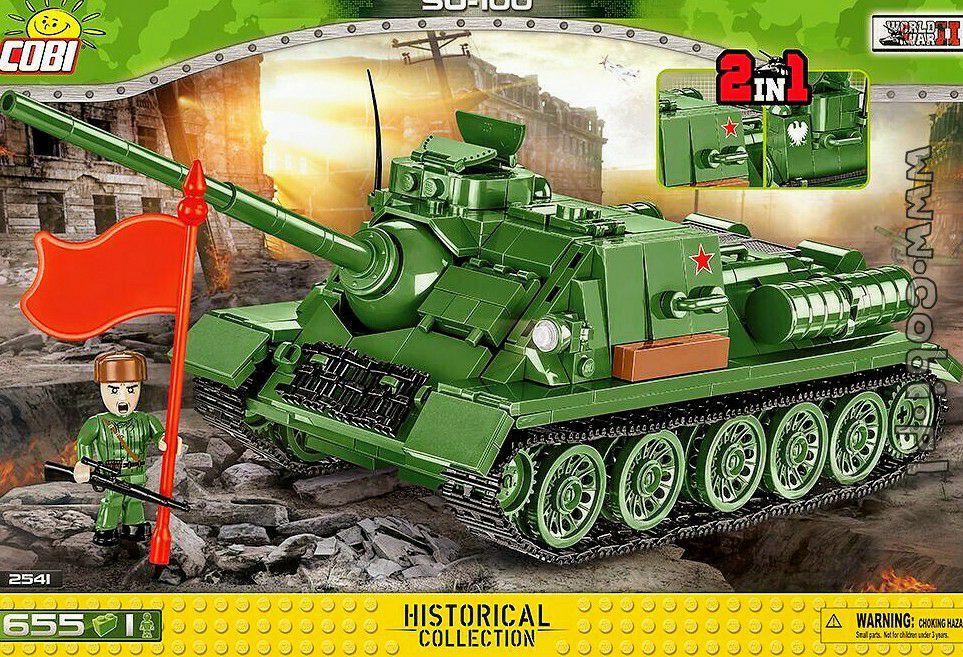Cobi 2541 Su 100 Jagdpanzer (Prime)