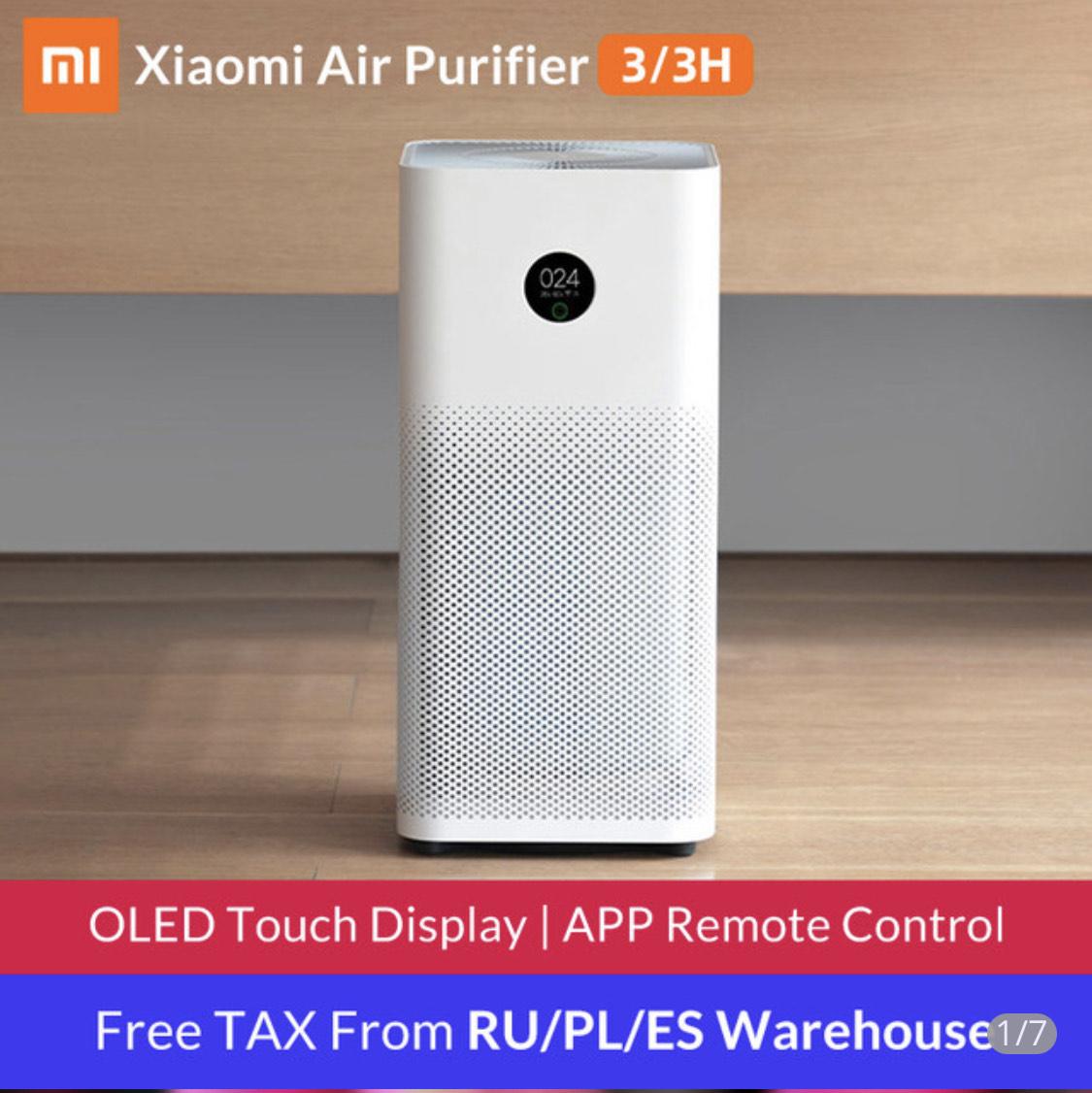 Xiaomi Mi Air Purifier 3H für 111€ über AliExpress Spanien