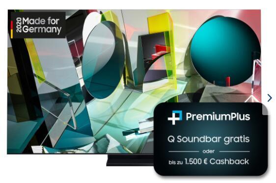 2.944€ für Samsung 8K 65 Zoll GQ65Q950TSTXZG (über Cashback)