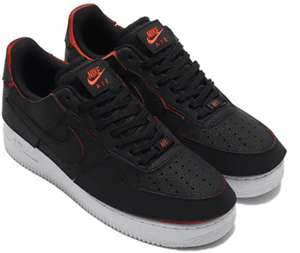 Nike Air Force 1 Low 1/1 Black Chile Red (Gr. 39 - 45)