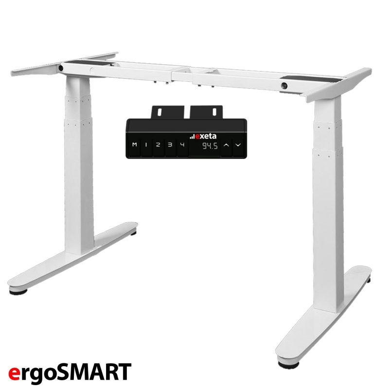 exeta ergoSMART elektrisch höhenverstellbares Schreibtisch-Gestell