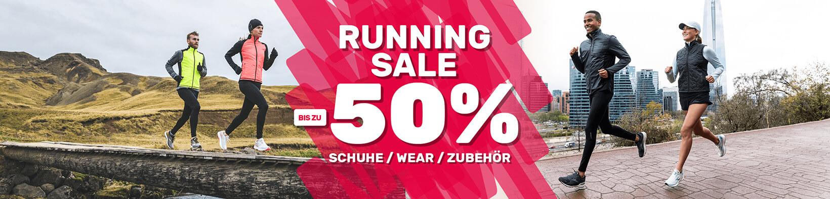 Running Sale (bis zu -50%) bei Sport Müller