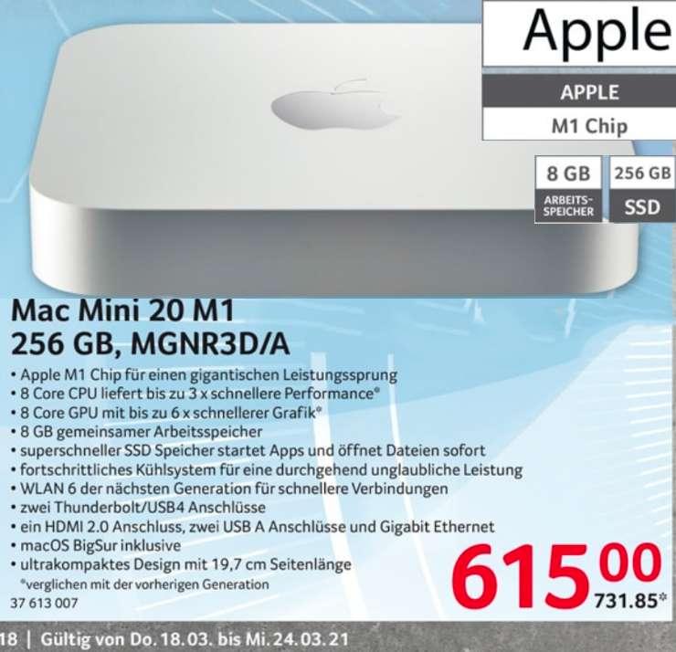 Apple Mac Mini 2020 M1 256/8GB MGNR3D/A - Selgros via Corporate Benefits