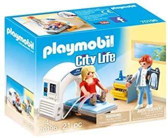 PLAYMOBIL City Life 70196 Beim Facharzt: Radiologe, Prime