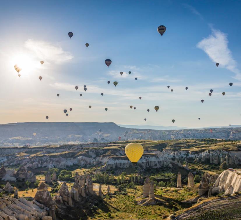Flüge: Kappadokien / Türkei (Juni/Sept-Okt) Nonstop Hin- und Rückflug mit Corendon von Köln und Stuttgart für 66€