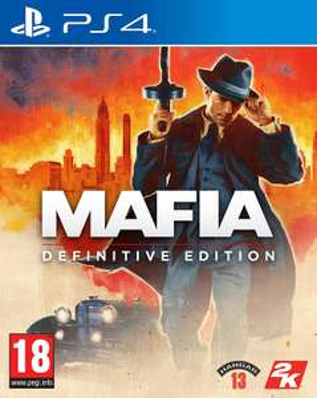 Mafia: Definitive Edition (PEGI) [PlayStation 4]