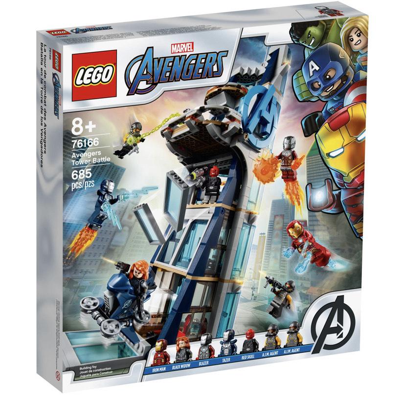 [Galeria] LEGO® Super Heroes 76166 Avengers – Kräftemessen am Turm